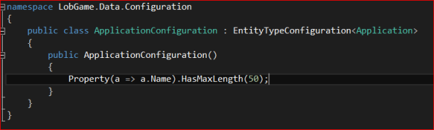 ApplicationConfiguration